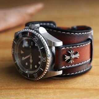Leather Watch Band #leatherwatchstrap