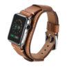 Brown Apple Watch Cuff